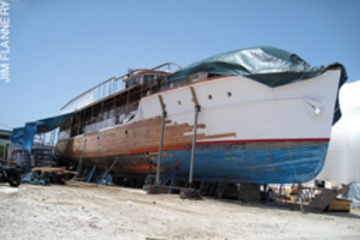 A Royal Refit For The Yacht Of Camelot Soundings Online