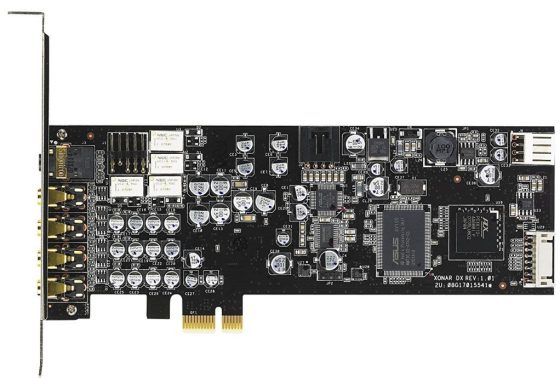 PCI Express 7.1 Sound Cards