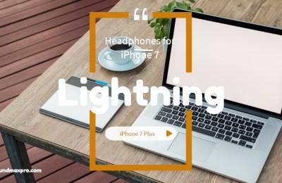 Lightning Headphones for Apple iPhone 7