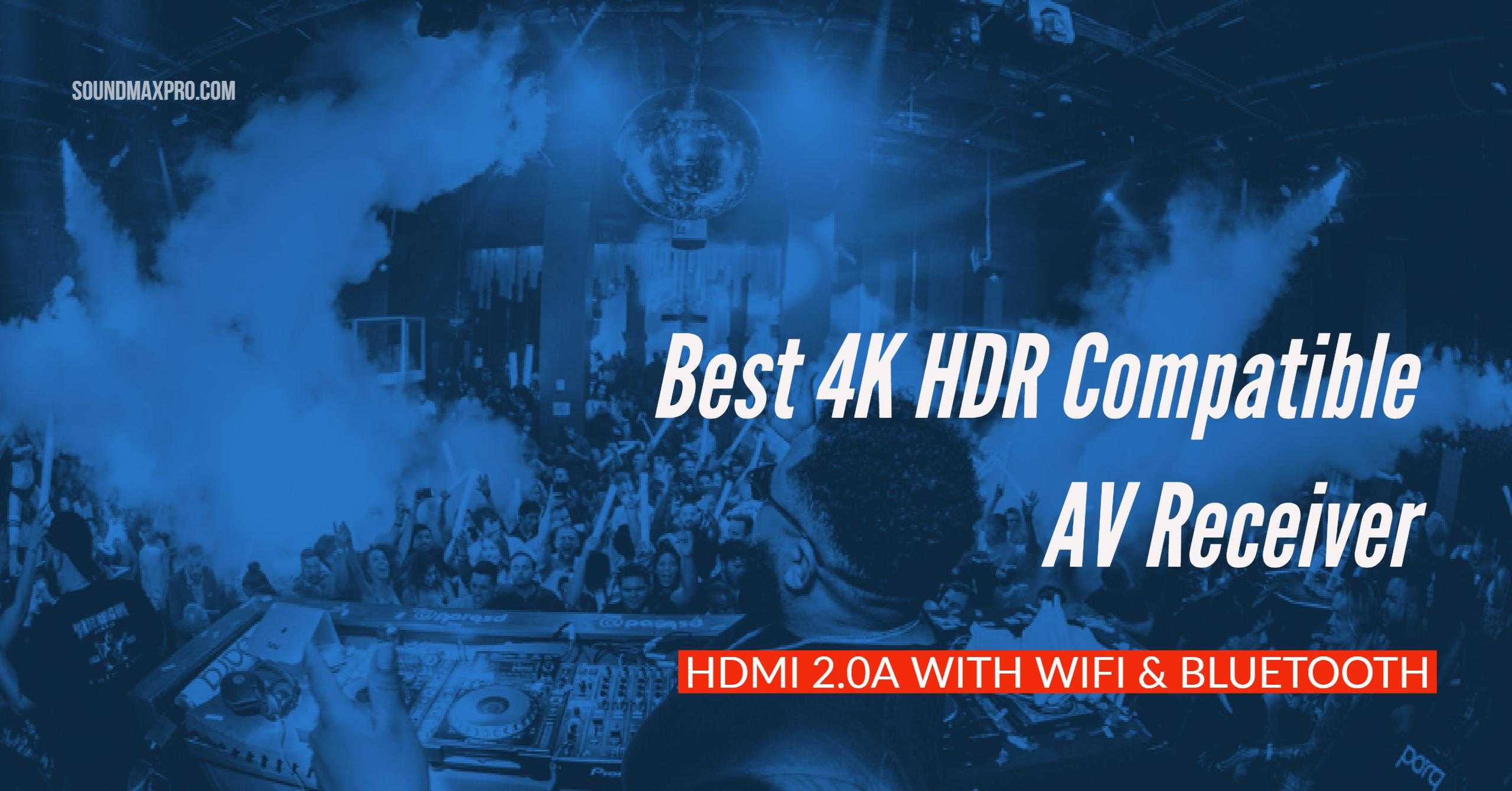 best budget 4k hdr compatible av receiver hdmi 2 0a with wifi rh soundmaxpro com