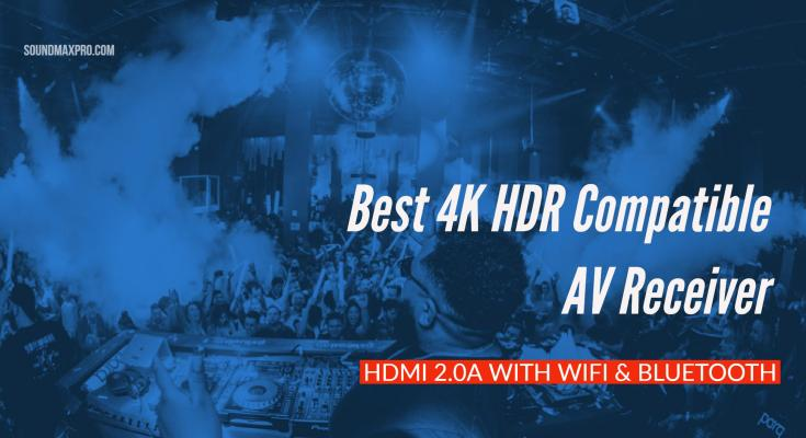 Best Budget 4K HDR compatible AV Receiver