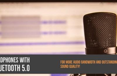 Headphones With Bluetooth 5.0
