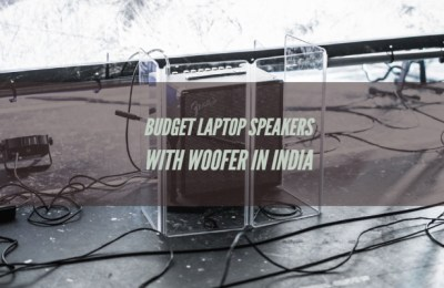 Budget Laptop Speakers with Woofer in India