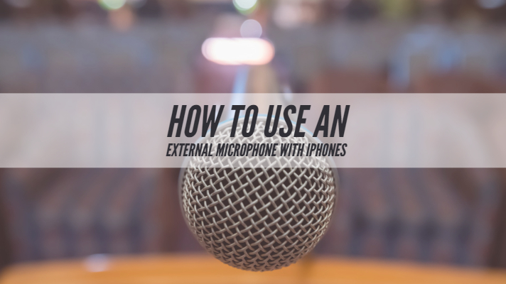 how to use microphone on iphone