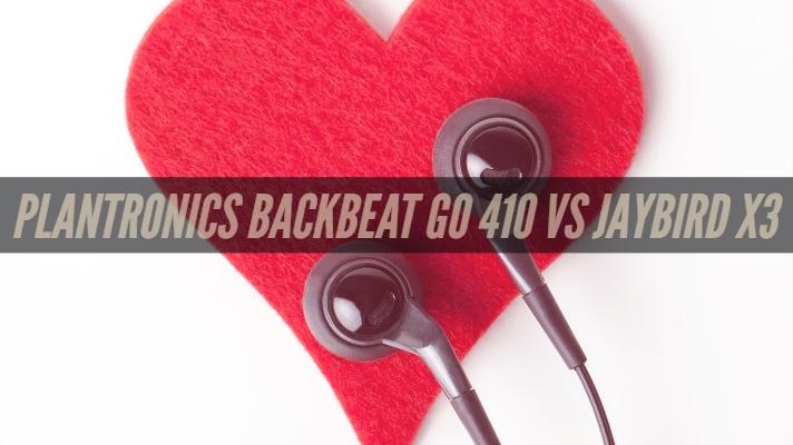Plantronics Backbeat Go 410 vs Jaybird x3