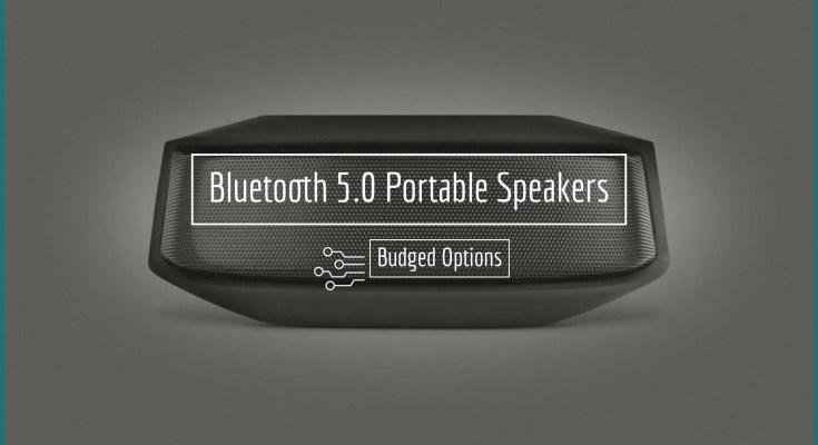 Bluetooth 5.0 Portable Speakers