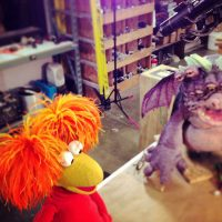 Jim Henson's Creature Shop puppets become accustomed to DPA microphones