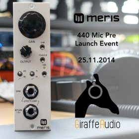 Giraffe Audio Meris Launch