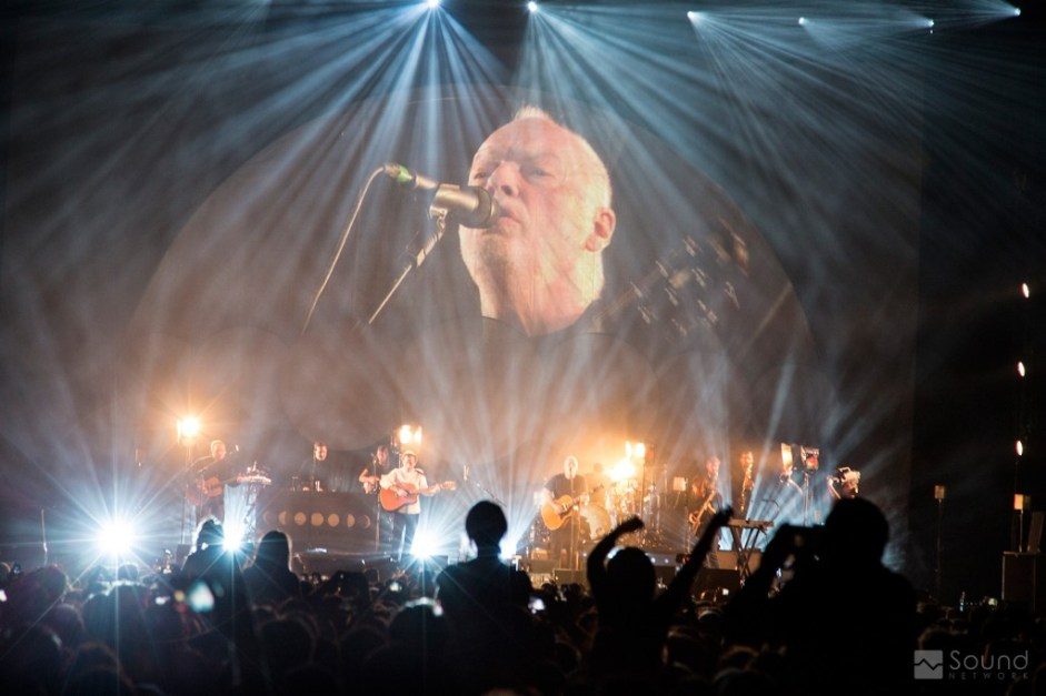 David Gilmour and Bombay Bicycle Club at Earls Court