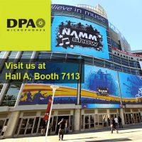 DPA Mics at the NAMM Show 2015