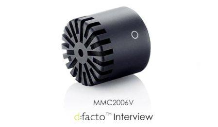 DPA d:facto Interview Mic Capsule - MMC2006V