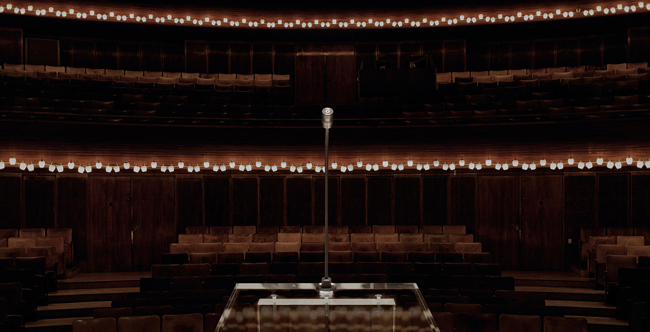 DPA d:dicate 4018F Podium Mic in Concert Hall