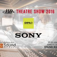 DPA Microphones and Sony at ABTT Theatre Show 2016