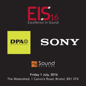 EIS16 DPA Microphones Sony Sound Network