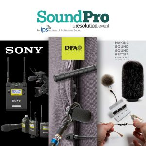 SoundPro 2016 - DPA, Sony, Bubblebee and Sound Network