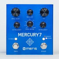 Meris Mercury7 Reverb Pedal controls