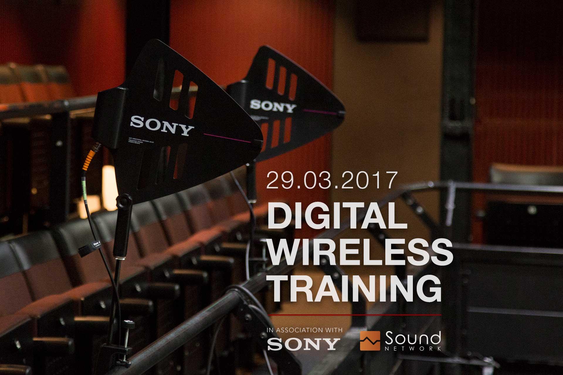 Sony Wireless Training March 2017
