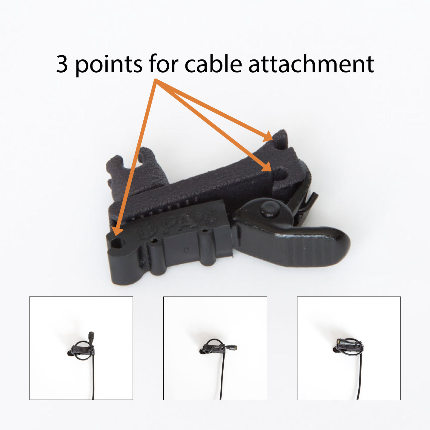DPA SCM0013 Cable Attachment Options