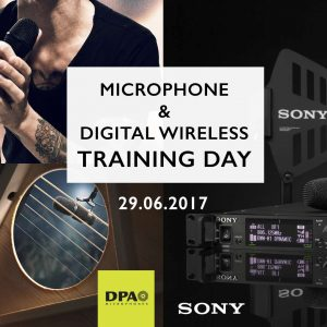 Microphone and Digital Wireless Training Day June 2017