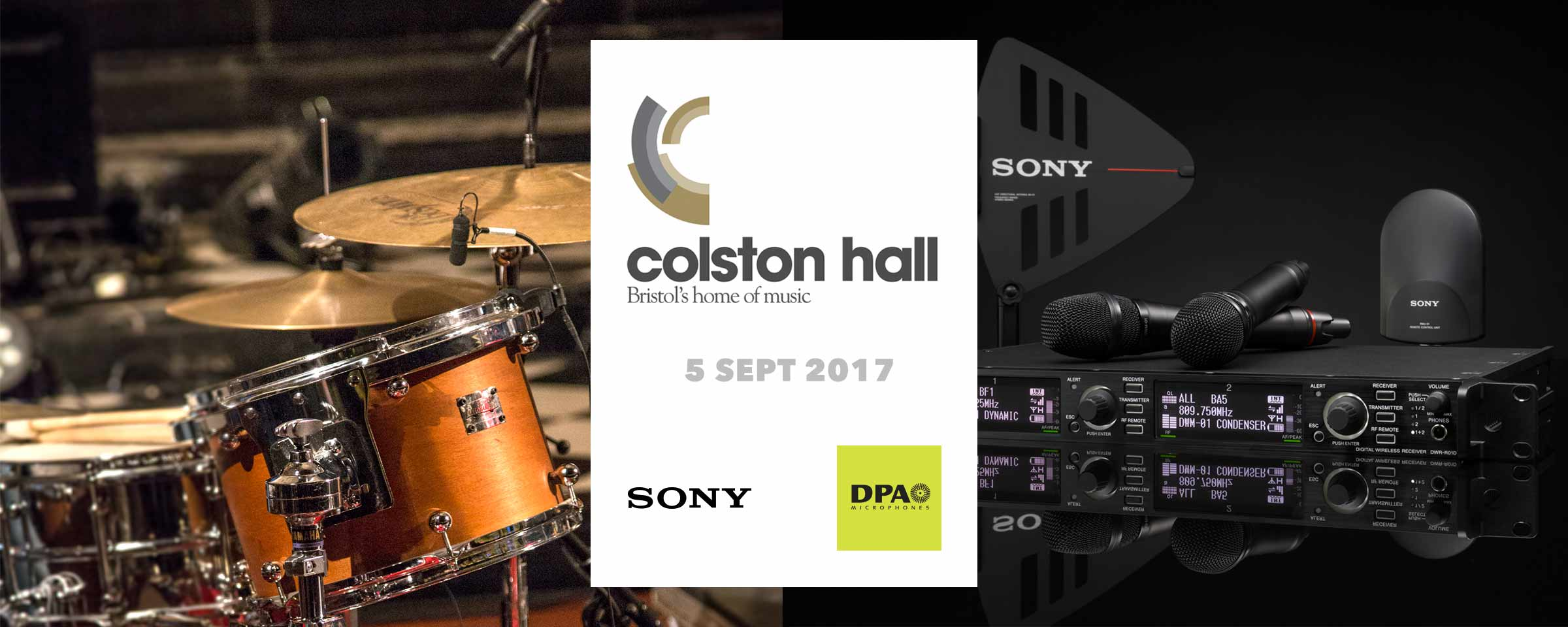 Colston Hall DPA Sony Workshop September 2017