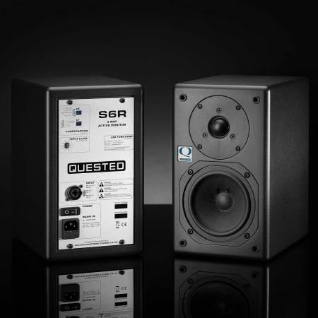 Quested S6R 2-Way Active Studio Monitors