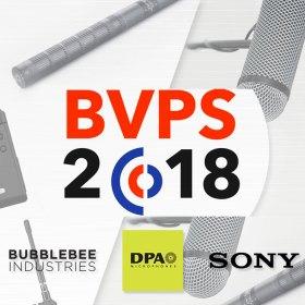 BVPS2018 with DPA, Sony and Bubblebee