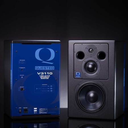 Quested V3110 3-Way Active Monitors