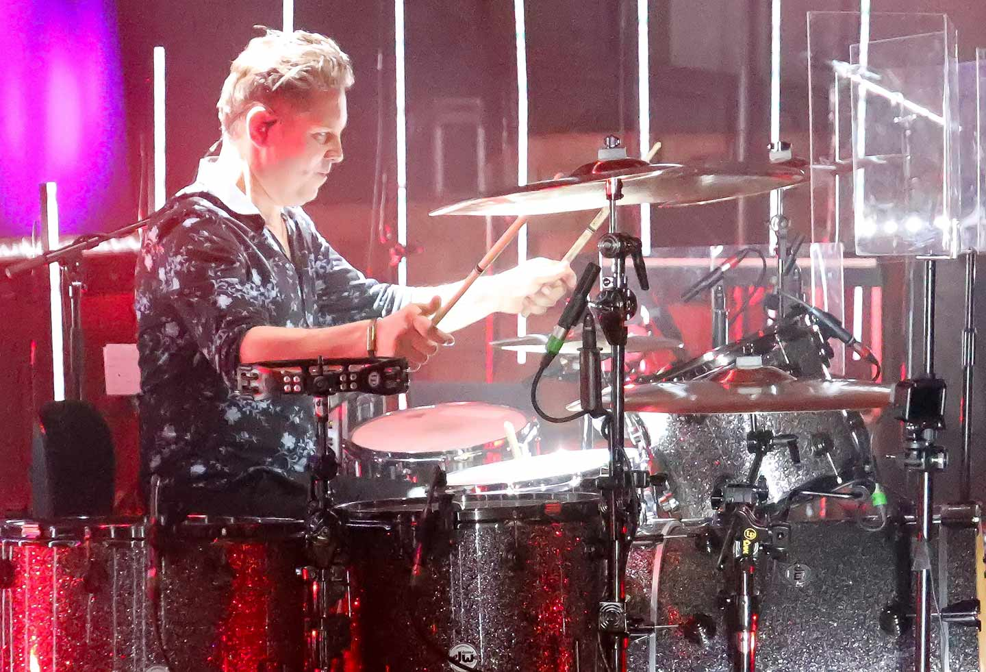 Snow Patrol's Johnny Quinn on Drums with d:dicate 2011C mics