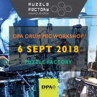 Puzzle Factory DPA Drum Workshop