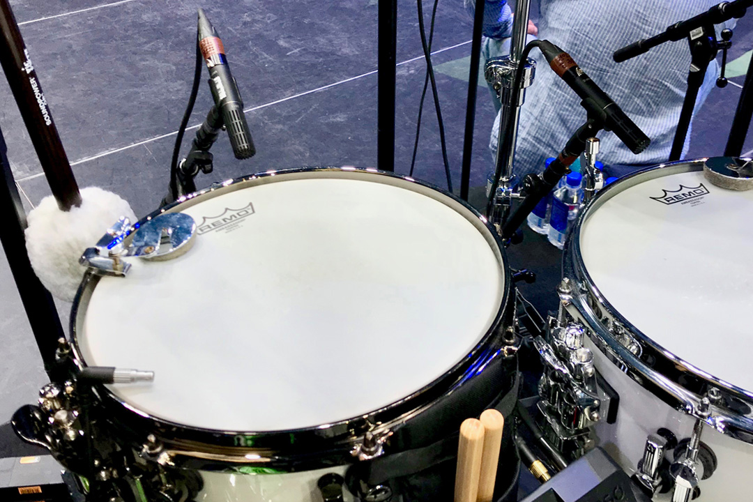 DPA Mics used for Keith Windhorst Journey - Snare