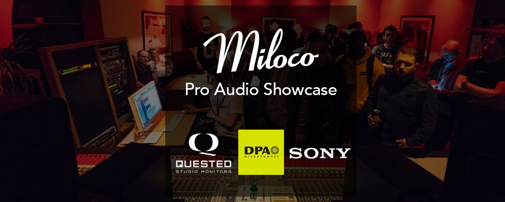 Miloco Pro Audio Showcase