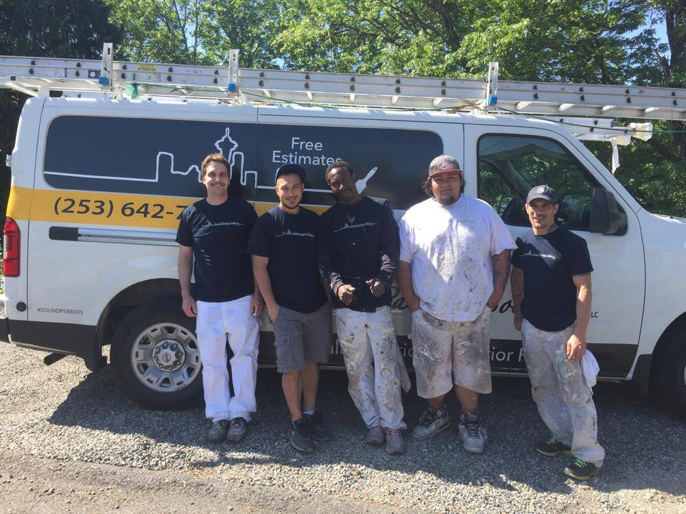 Sound Painting Solutions Exterior Painting Crew