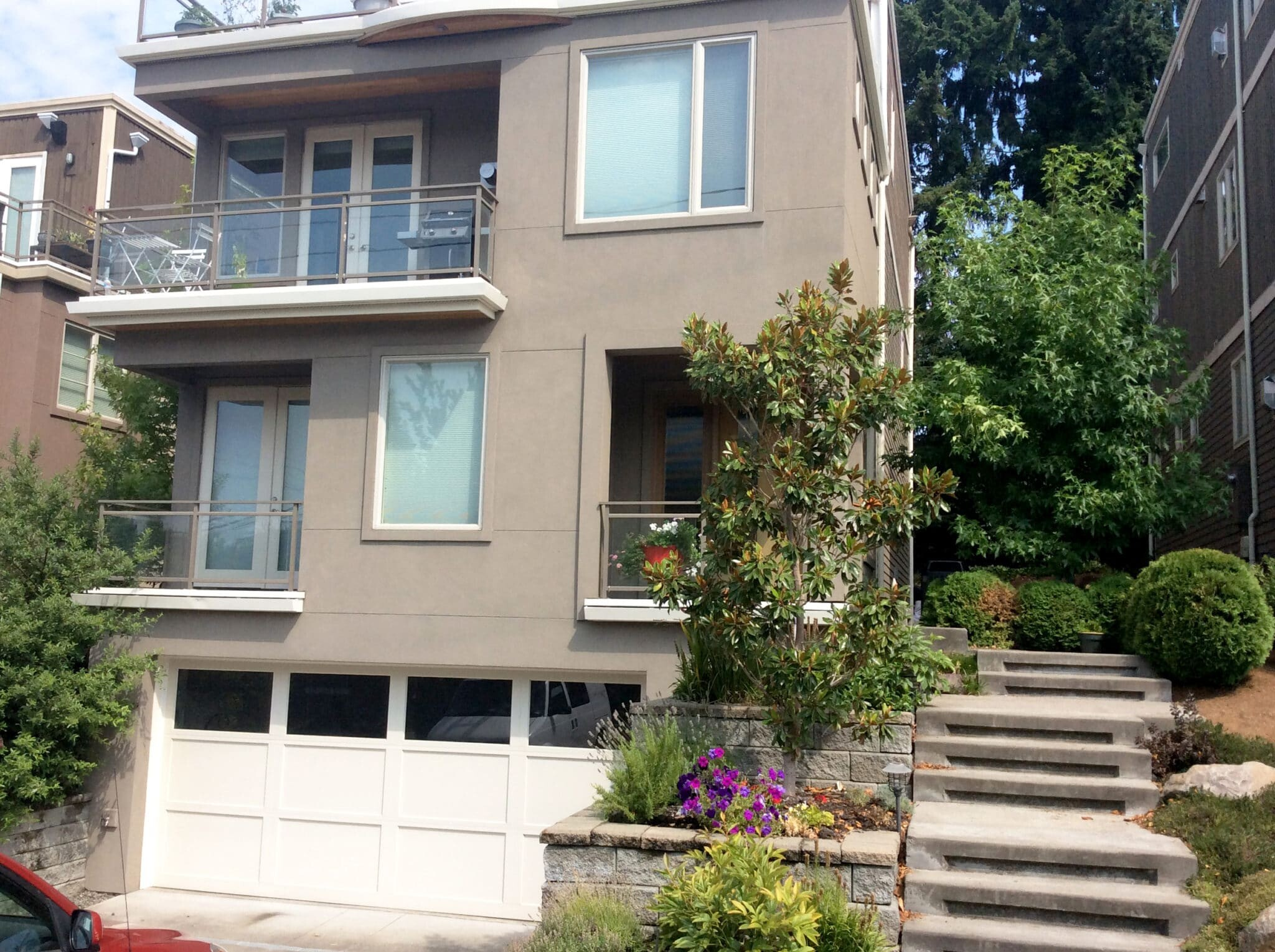 Exterior painting in Seattle, WA
