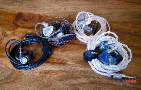 Moondrop A8 KZ AS10 Fearless Audio S10 BGVP DMS Headphones in Pictures