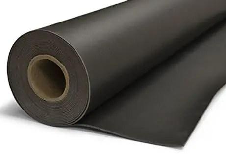 Mass loaded vinyl soundproofing materials