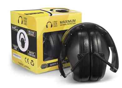 PRO FO Show hearing protection best noise cacelling ear muffs for studying
