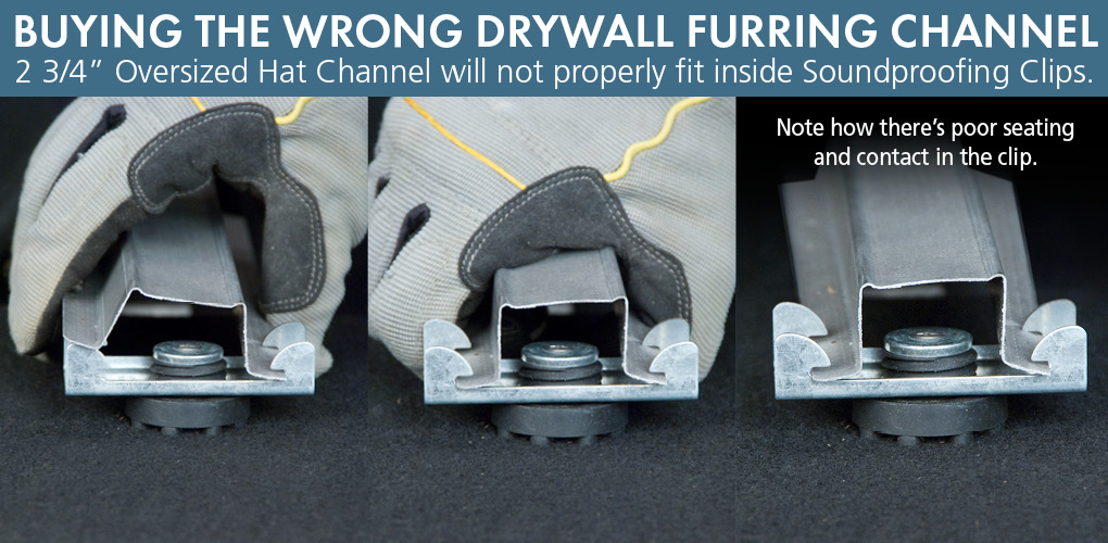 What Is Drywall Furring Channel Or Hat Channel
