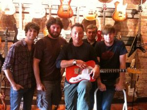Bruce Springsteen visits Sound Pure