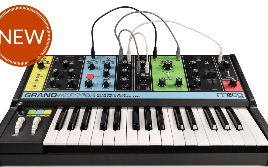 Moog's Latest Creation, The Grandmother, Has Arrived!