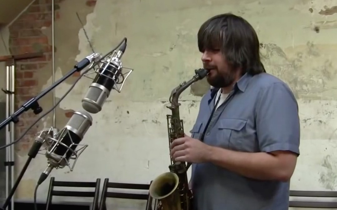 CharterOak SA538 vs. SA538B Microphones on Saxophone