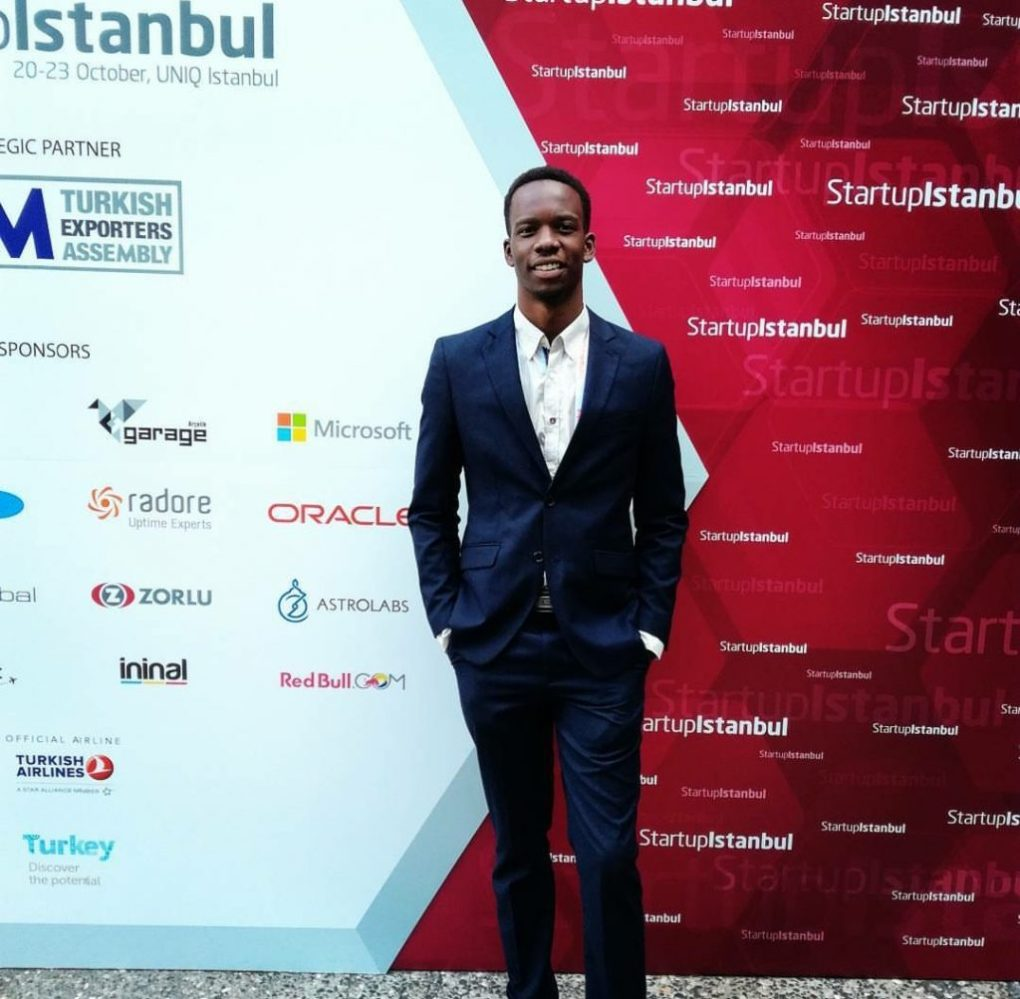 Turn App Head of BusiTurn App Head of Business, Ted Okoth at Start Up Istanbul 2017 nees, Ted Okoth at Start Up Istanbul 2017