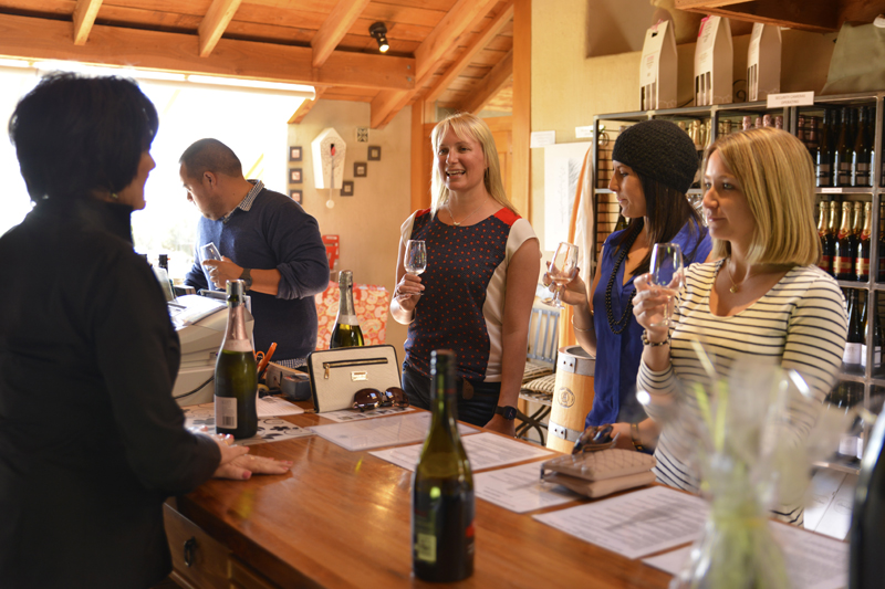Enjoy a wine tasting or have lunch at Allan Scott Family Winemakers with Sounds Connection