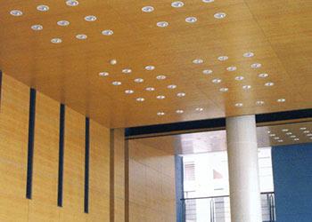 Woodsorption Veneer Faced Sound Absorbing Wood Panels