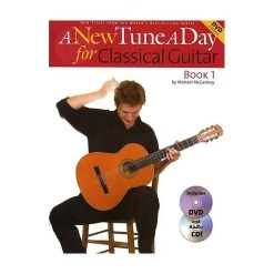 A New Tune A Day For Classical Guitar Bk&Dvd