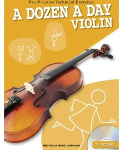 A Dozen A Day Violin Bk/Cd