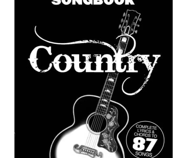 The Little Black Songbook Country Guitar Tab