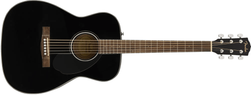 Fender cc60sbk acoustic guitar black