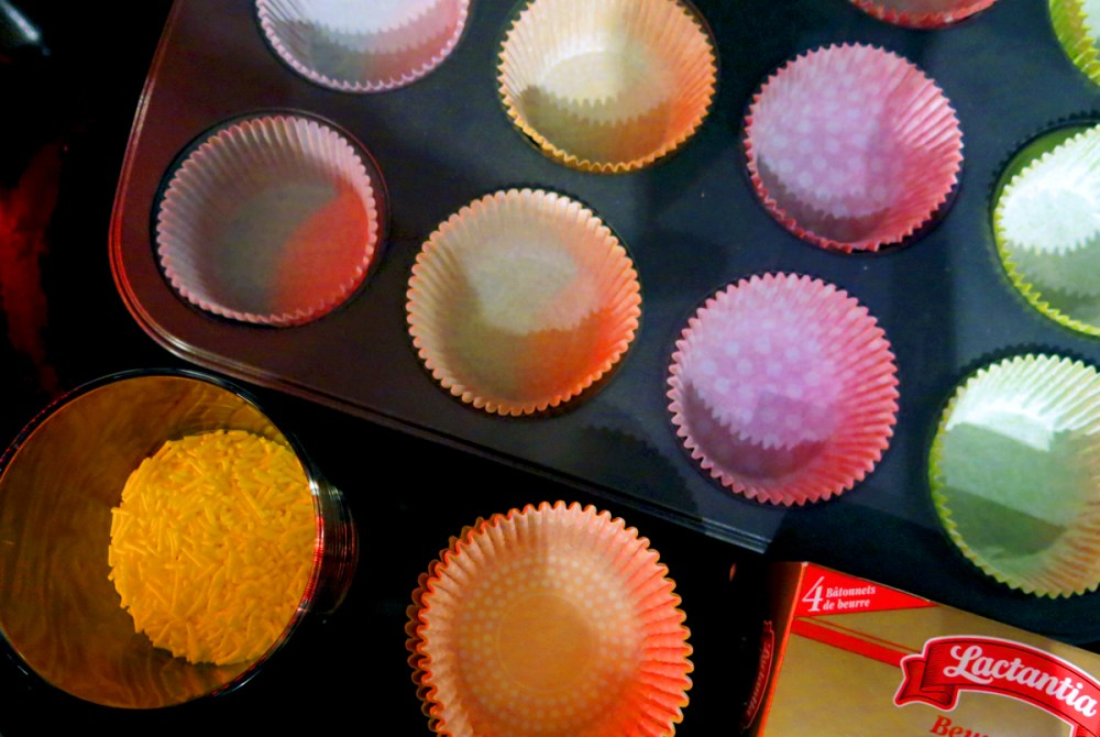 colourful cupcake wrappers