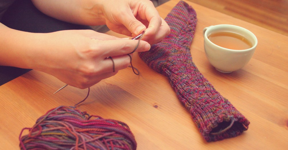 tips on knitting socks