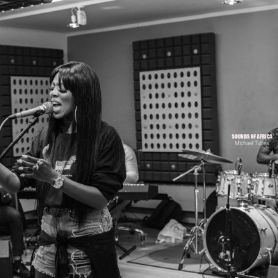 London, UK. 22nd August 2018. BTS of Tiwa Savage's UK Concert  Rehearsal Day 3. Photographed Michael Tubes.